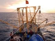 越中两国举行北部湾湾口外海域共同考察启航仪式