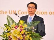 越南批准联合国《儿童权利公约》25周年纪念典礼在河内举行