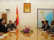 越南与东帝汶加强经贸投资合作