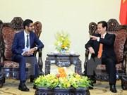 阮晋勇总理会见谷歌首席执行官桑达尔·皮查伊
