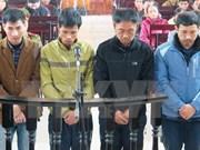 越南河静省脚手架坍塌案:4名被告人被判处30个月至42个月不等的有期徒刑