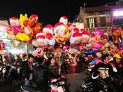 越南全国各地纷纷举行庆祝2015年圣诞节活动