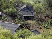 山萝省云湖县的赫蒙族村庄——长迪村