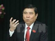 胡志明市领导人会见老挝新任驻胡志明市总领事