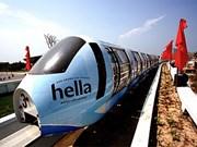 越南最现代高架单轨列车在岘港市开始运营