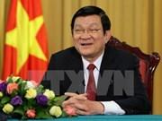 越南国家主席张晋创:上下齐心 攻坚克难 砥砺前行