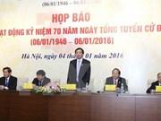 越南国会首次普选70周年纪念活动将于6日在国会大厦举行