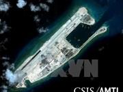 日美对中国在长沙群岛非法建设的机场进行校验试飞表示关切