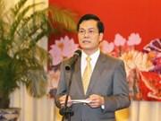 越南外交部举行各国驻越新闻随员和记者新年见面会