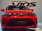 2015年越南丰田汽车销量创下历史新高
