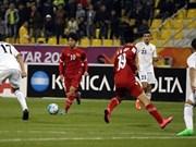 2016年U23亚洲杯:越南队以1比3输给约旦队