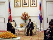 泰国与柬埔寨加强双边关系