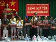 各省份和机关单位春节前夕走访慰问贫困群众送温暖