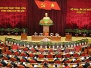 越共十二大:越共十二届中央委员会召开第一次全体会议
