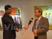 6名当代越南画家在新德里举行画展