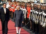 印度和泰国加强双边关系