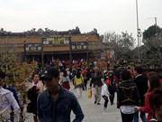 2016丙申猴年大年初一承天顺化省信仰旅游区处处都挤满人