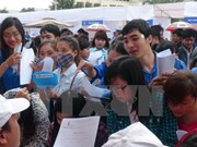 2015年胡志明市解决近29.5万人就业