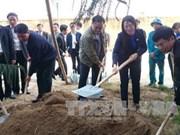 黄忠海副总理出席春季下田节和2016年植树节启动仪式