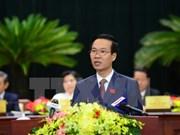 越共中央政治局委员武文赏担任中央宣教部部长职务