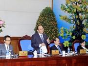 阮春福副总理要求各机关干部和公务员春节后抓紧时间完成任务