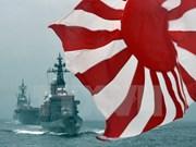 日本海上自卫队三艘战舰访问柬埔寨