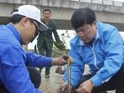 胡志明市共青团发起2016年植树节活动