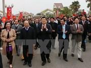 """张晋创主席出席在河内举行的""""祖国各地春色""""活动"""