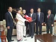 日本向越南岘港市赠送100棵樱花树