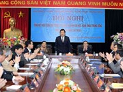 张晋创主席:提高领导干部对文化、文学、艺术的认识建立富有浓郁民族特色的越南先进文化