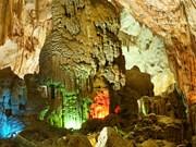 越南广平省风芽洞跻身世界最让人惊叹的五大洞穴奇观名单