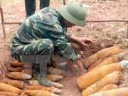 金西人道基金会资助越南广平24.2万美元进行排雷工作