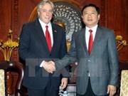 胡志明市领导人会见美国国务院高级顾问