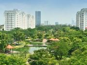 越南努力打造绿色城市