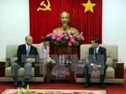 日越友好议员联盟特别顾问访问平阳省