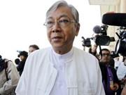 缅甸联邦议会明天将推选新总统