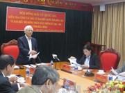 越南国会副主席汪周刘对山萝省选举筹备工作进行检查