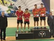 2016年葡萄牙羽毛球国际赛:越南羽毛球队无缘冠军