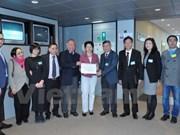 旅居欧洲越南人代表向欧洲议会递交有关东海问题的公开信