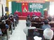 越南国会副主席汪周刘接触清化省选民