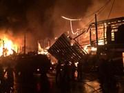 13户旅泰越侨家庭遭火灾   越方要求泰方查明火灾原因