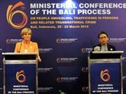 第六届打击走私、拐卖人口及跨国犯罪部长级会议在印度尼西亚举行