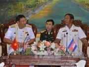 越柬海军加强合作关系