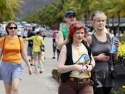 2016年第一季度赴越旅游的国际游客量同比增长20%