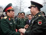 越中两国加强团结 共建和平友好的边界线