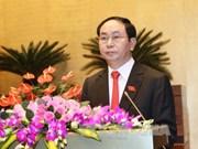 越南国家主席陈大光莅临宁平省调研