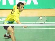 越南羽毛球名将阮进明上升7位 进入世界40强