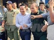 柬埔寨国会就反对党救国党议员翁松安被捕召开紧急会议
