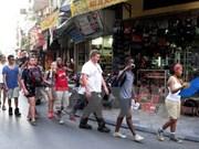 河内市接待国际游客量猛增