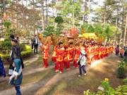 越南全国各地纷纷举行雄王祭祖活动